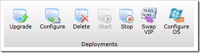 Deployment ribbon in Windows Azure Management Portal