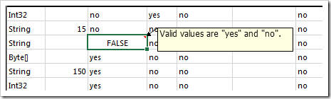 Invalid data is highlighted by Tools for Excel.